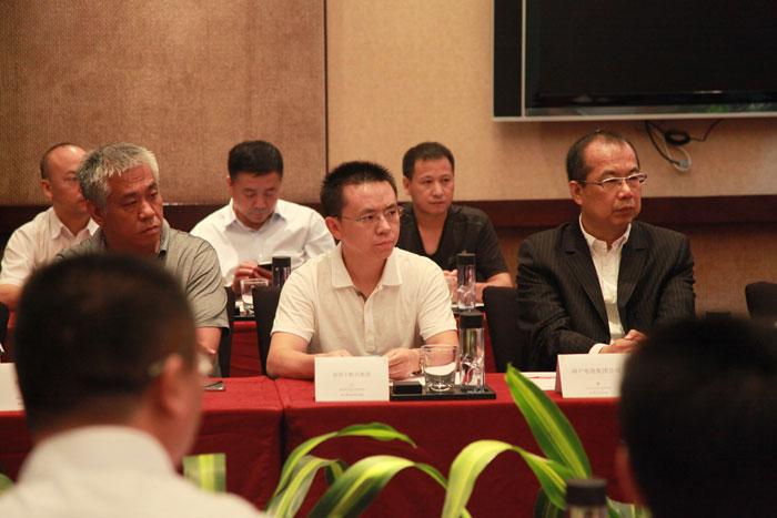 现场卡酷尚集团创始人郭晓林先生