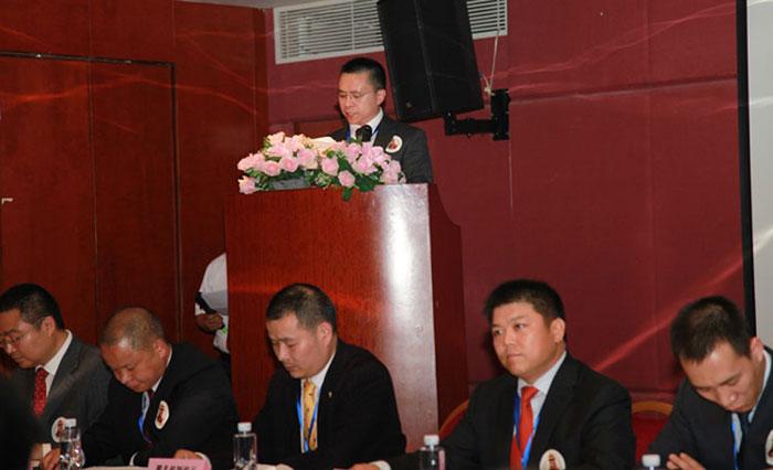 卡酷尚-KAKUSAN创始人郭晓林先生作筹备工作报告