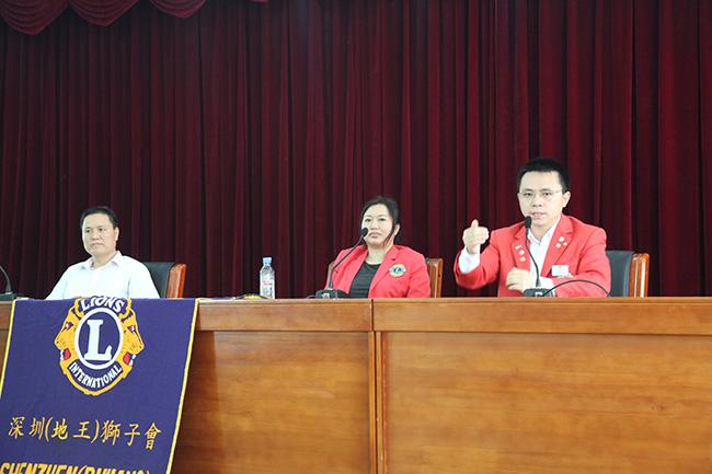 地王服务队郭晓林(卡酷尚创始人)会长、大同服务队探班之旅