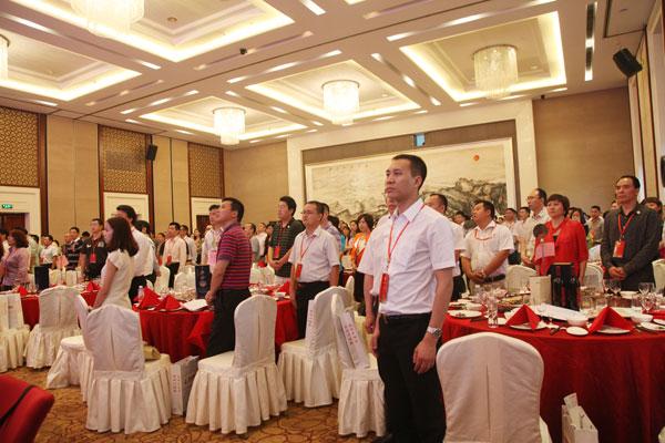 两地的政府领导、各界嘉宾、友好商会代表、商会会员等500余人欢聚一堂