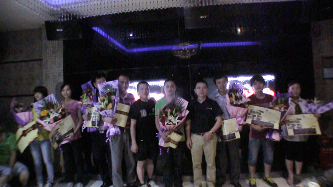 卡酷尚为第一季度生日的寿星们举办了生日庆典
