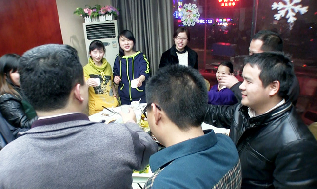 卡酷尚2013年第三、四季度优秀员工生日晚会