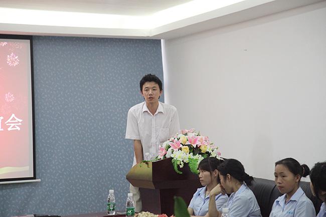卡酷尚2014年满三年老员工联谊会