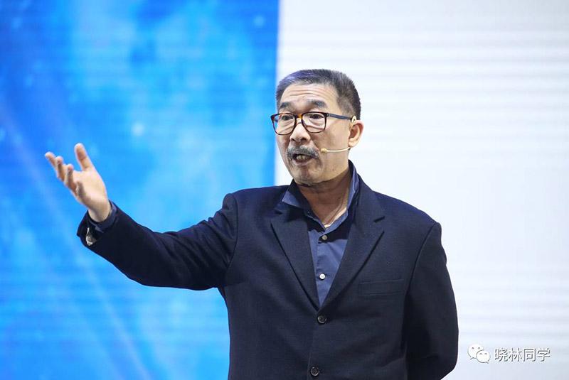 前思科全球副总裁、中国区总裁、现任刚逸领导力公司CEO林正刚