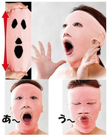 史上最奇葩的瘦脸工具-面部锻炼棒