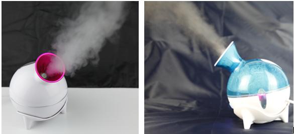 冷喷、热喷蒸脸器对比图