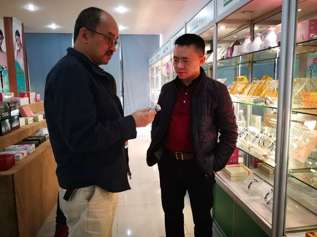 深圳市质协李榕会长莅临参观卡酷尚