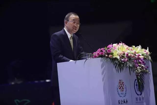 联合国部长潘基文
