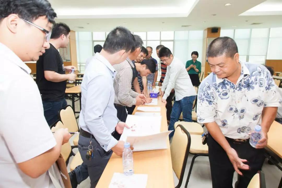 拾围村九子村民签署协议