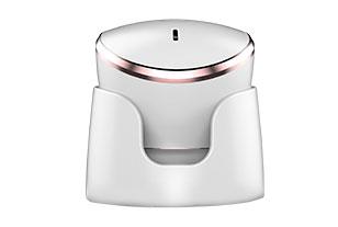 卡酷尚KAKUSAN热敷震动双用式硅胶洁面仪具有导入功能,作用相当于热式导入美容仪与硅胶刷头的洁面仪为一体的美颜器|家用美容仪器,日本美容仪专用指定生产厂家出品