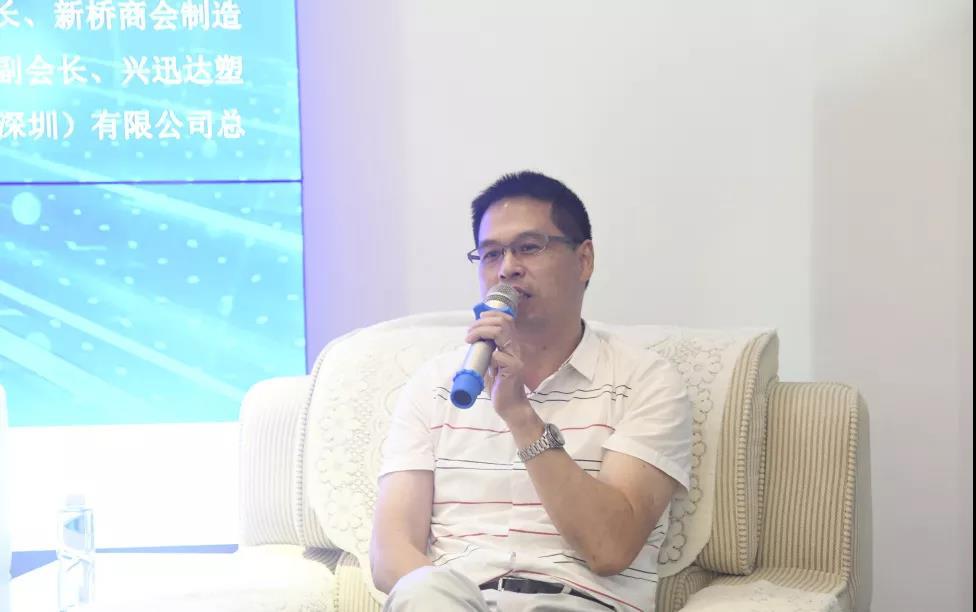 新桥商会制造业委员会副会长吴周仁