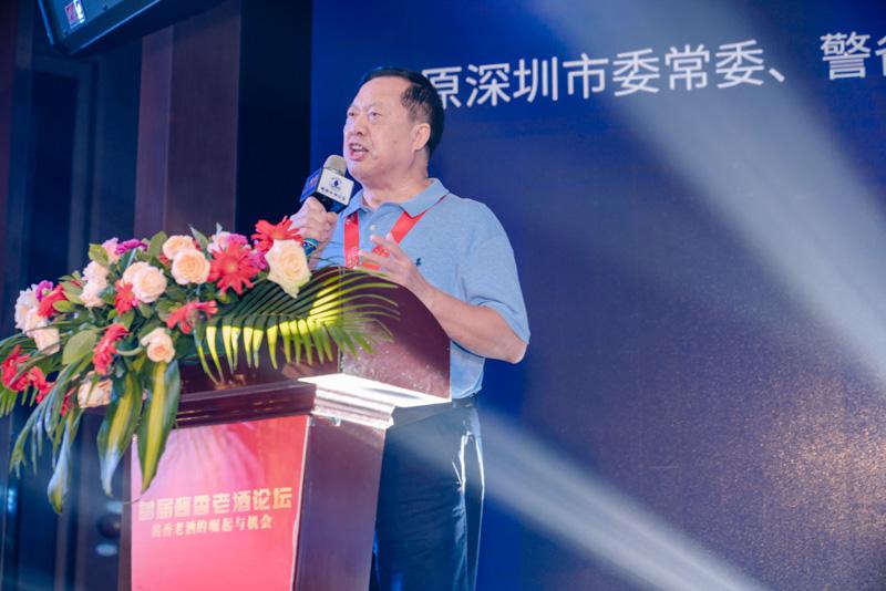 原深圳市委常委、警备区政委曹邵业先生在致辞
