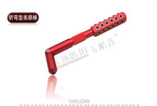 卡酷尚KAKUSAN折弯型美颜棒-瘦脸棒-KB129,使用的时候,指尖轻柔舒适的的按摩效果加上对电位的调节,与出口日本东京的美颜棒的负离子、远红外线,通过六角旋转机能的完美结合,效果更完美